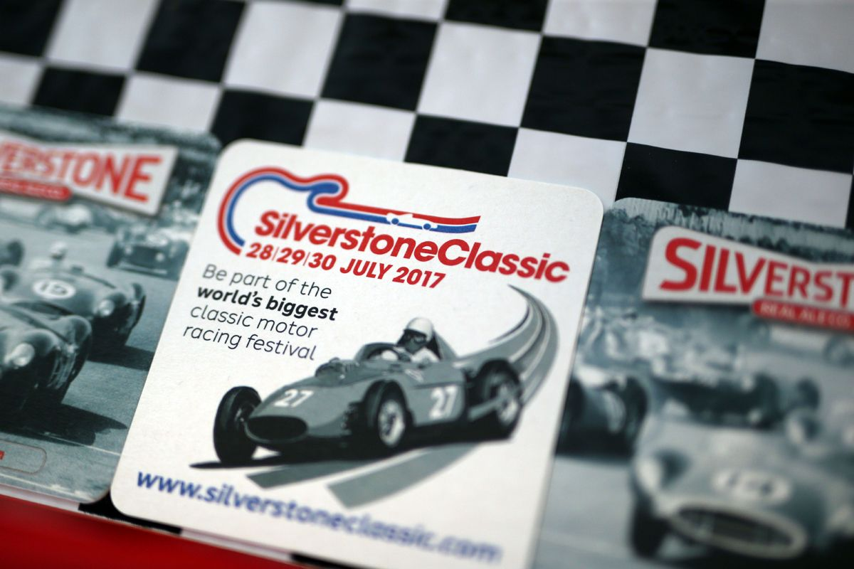 Silverstone Classic Media Day 2017, Silverstone Circuit, Northants, England. 23rd March 2017. Silverstone Real Ale Copyright Free for editorial use.