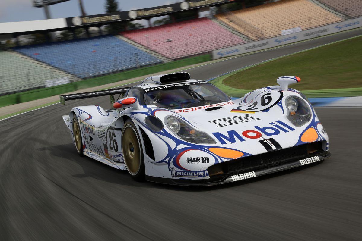 1998 PORSCHE 911 GT1 Doblete en Le Mans 1998
