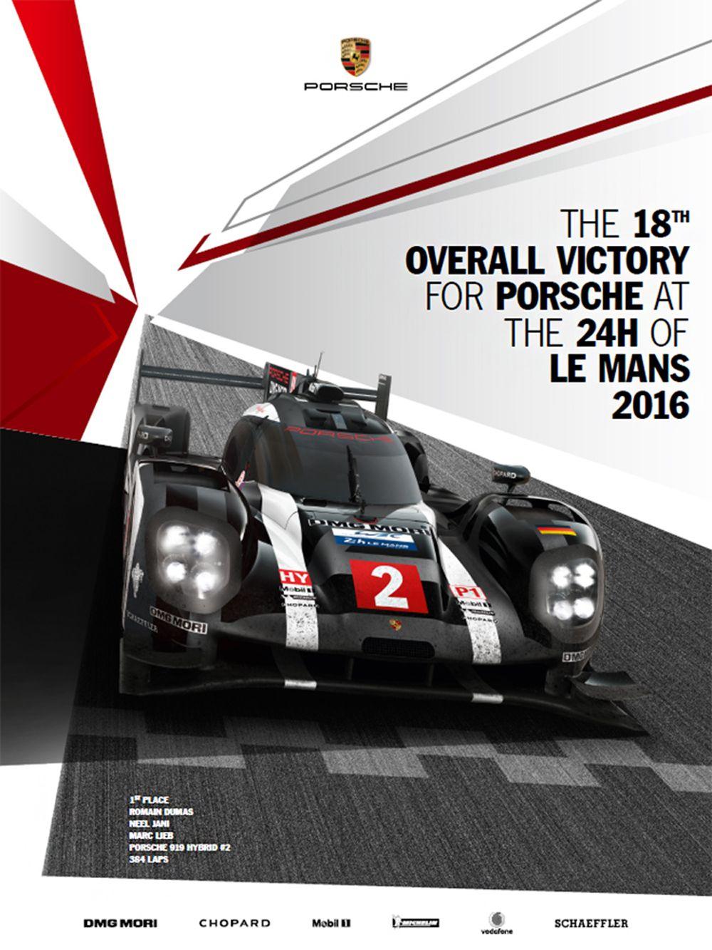 20 - PORSCHE Winning-poster_2016_Le-Mans_m