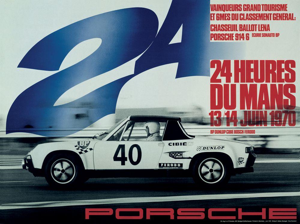 3 - PORSCHE - 24h de Le Mans 1970