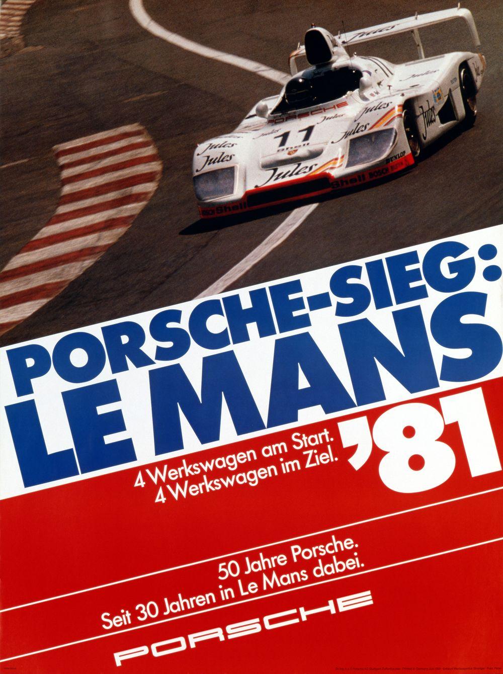 8 - PORSCHE - 24h de Le Mans 1981