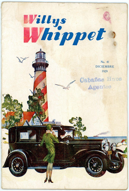 A portada_Revista Willys Whippet 41_Diciembre 1929_Argentina