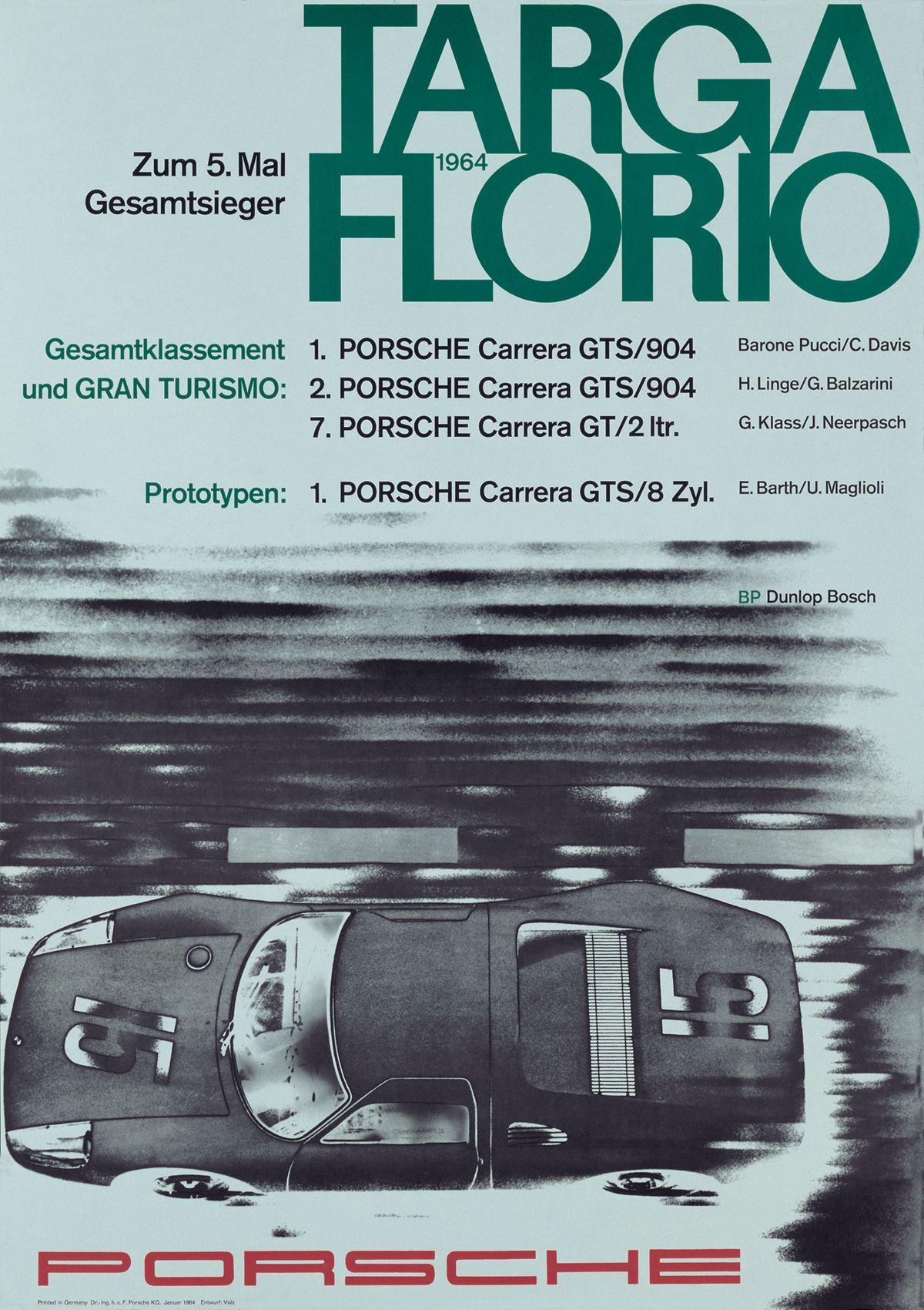 Cartel Targa Florio