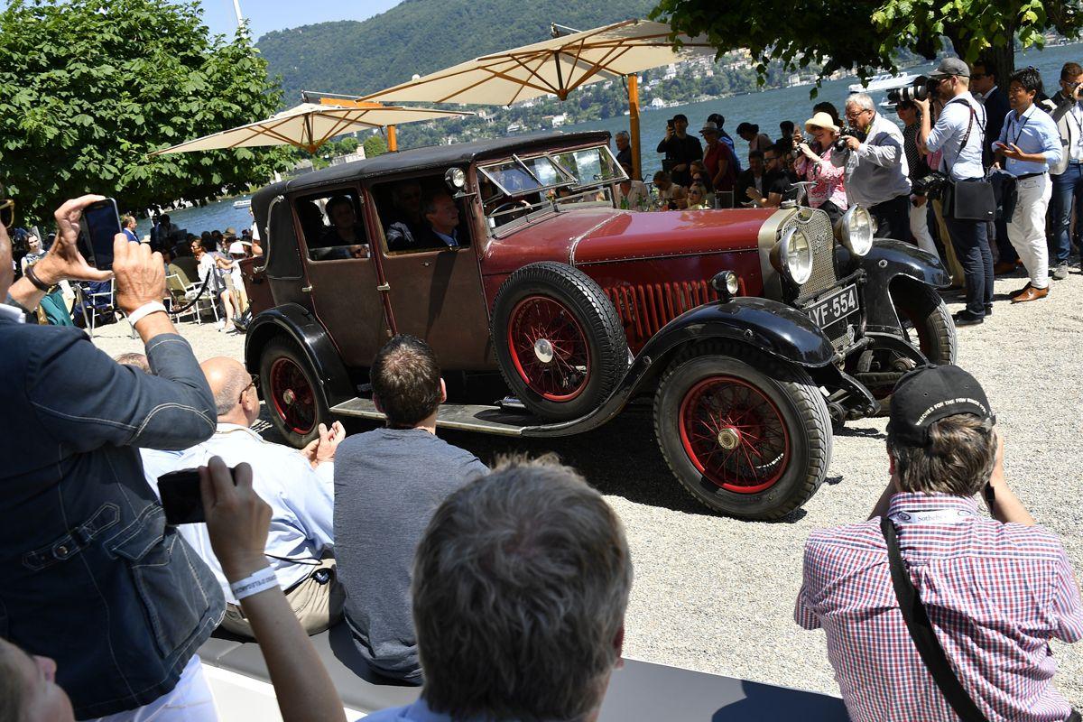 Villa d'Este 2017: Trofeo FIVA para un Hispano-Suiza