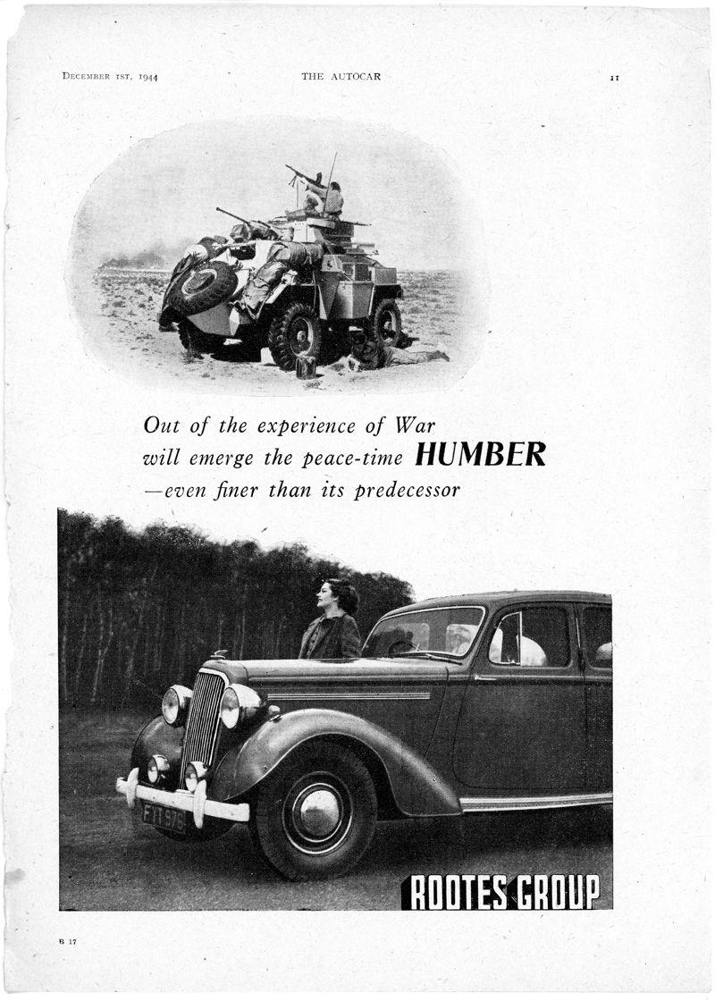 Humber WWII_The Autocar_Dic1 1944_Inglaterra