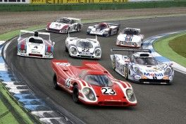Le Mans winner cars - from the first winner 1970 (front) until the 16. Overall winner 1998 M13_3242_fine