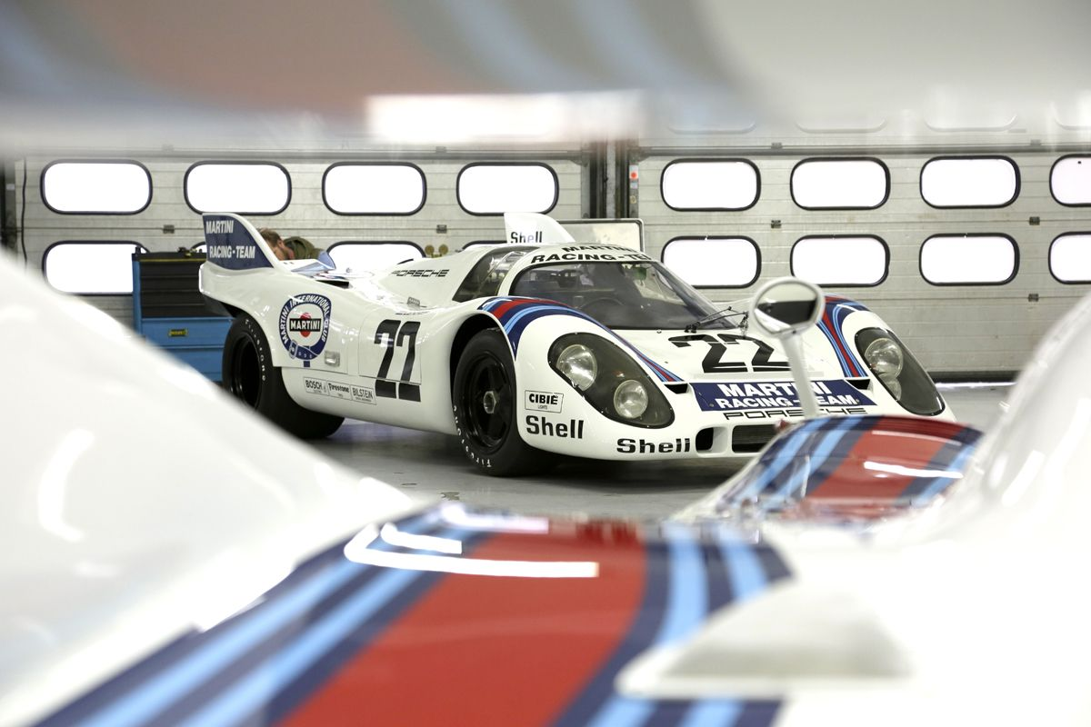 Porsche 917 KH CoupÇ 22 Le Mans winner 1971