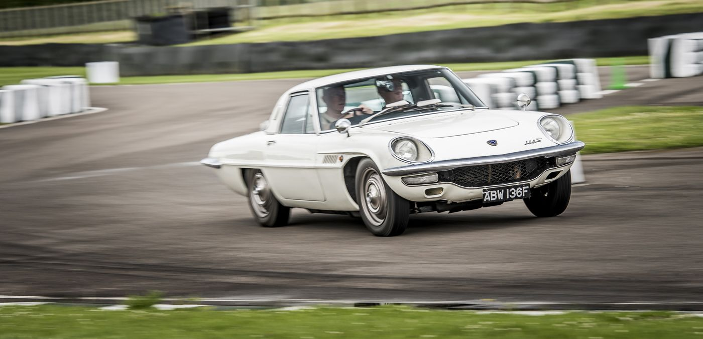 Medio siglo de vida para el Mazda Cosmo Sport