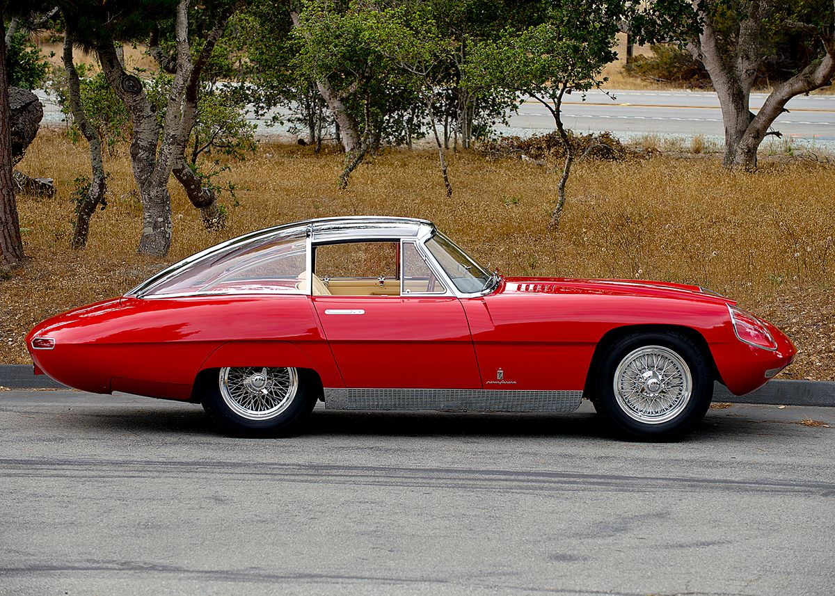 "1960 Alfa Romeo ""Superflow IV"" Pininfarina coupe"