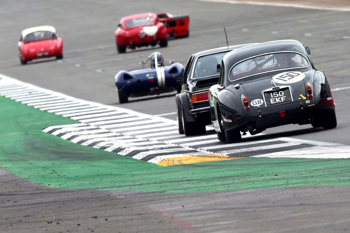 1420190_Final testing ahead of the Silverstone Classic