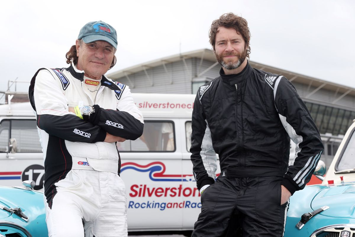 1420198_Rock and pop stars Brian Johnson and Howard Donald will be racing in the Celebrity Tropphy showdown