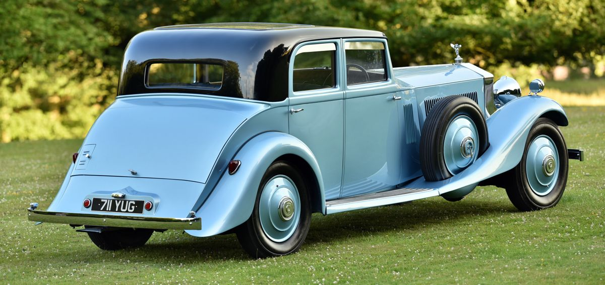 1933 Rolls Royce Phantom II Continental 711YUG - 19