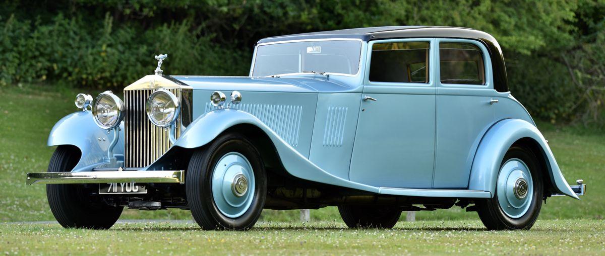 1933 Rolls Royce Phantom II Continental 711YUG - 5