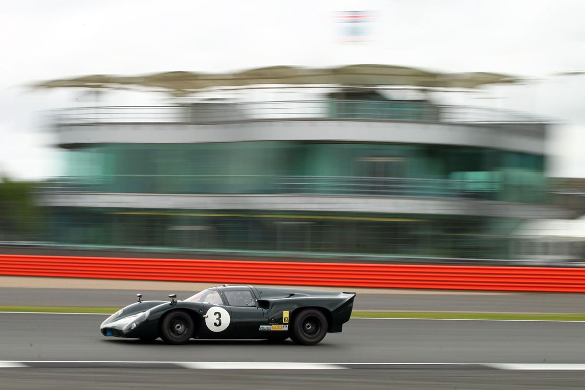 Silverstone Classic 28-30 July 2017 At the Home of British Motorsport lola T70 Free for editorial use only Photo credit Ai?? JEP