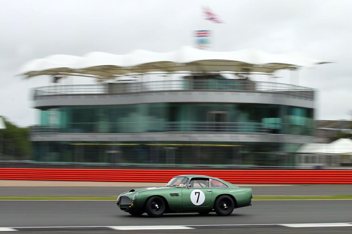 Silverstone Classic 28-30 July 2017 At the Home of British Motorsport Aston Martin Free for editorial use only Photo credit Ai?? JEP