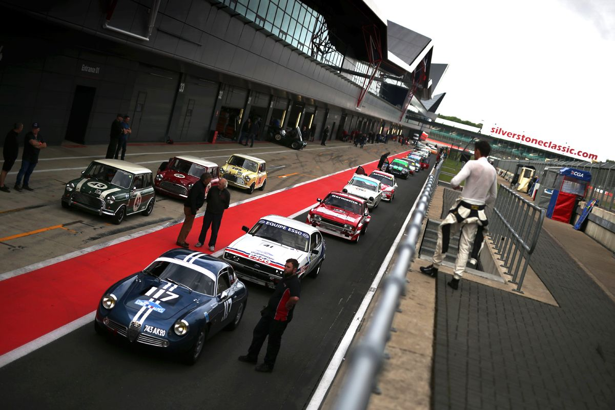 Silverstone Classic 28-30 July 2017 At the Home of British Motorsport Silverstone Classic Free for editorial use only Photo credit Ai?? JEP