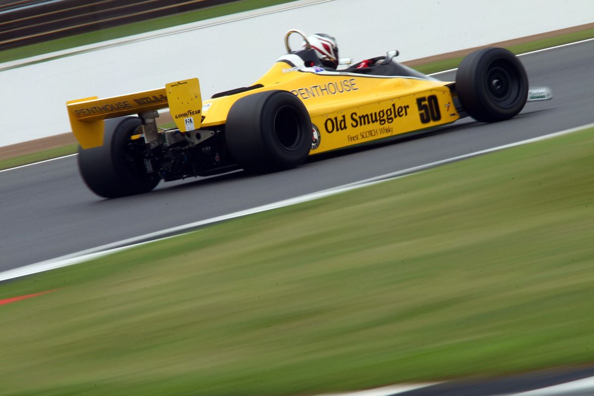 Silverstone Classic 28-30 July 2017 At the Home of British Motorsport LYONS Michael GB Williams FW07B Free for editorial use only Photo credit Ai?? JEP