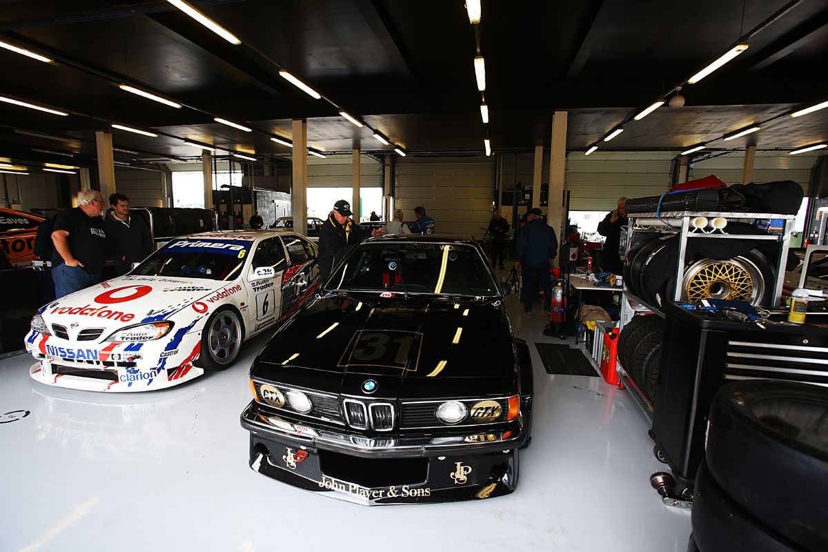 Silverstone Classic 28-30 July 2017 At the Home of British Motorsport Jim Richards - BMW 635 CSI Free for editorial use only Photo credit Ai?? JEP