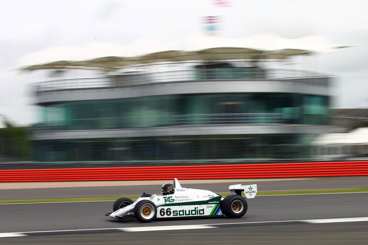 Silverstone Classic 28-30 July 2017 At the Home of British Motorsport Tommy Dreelan - Willams Free for editorial use only Photo credit Ai?? JEP