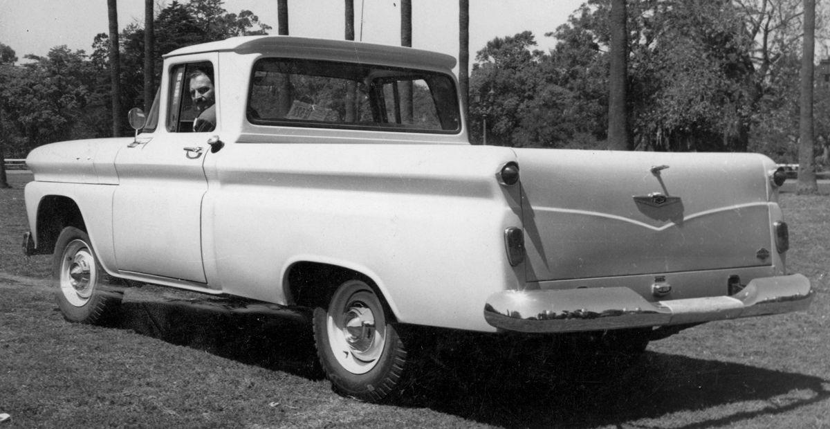 Chevrolet pick up Francital_Argentina
