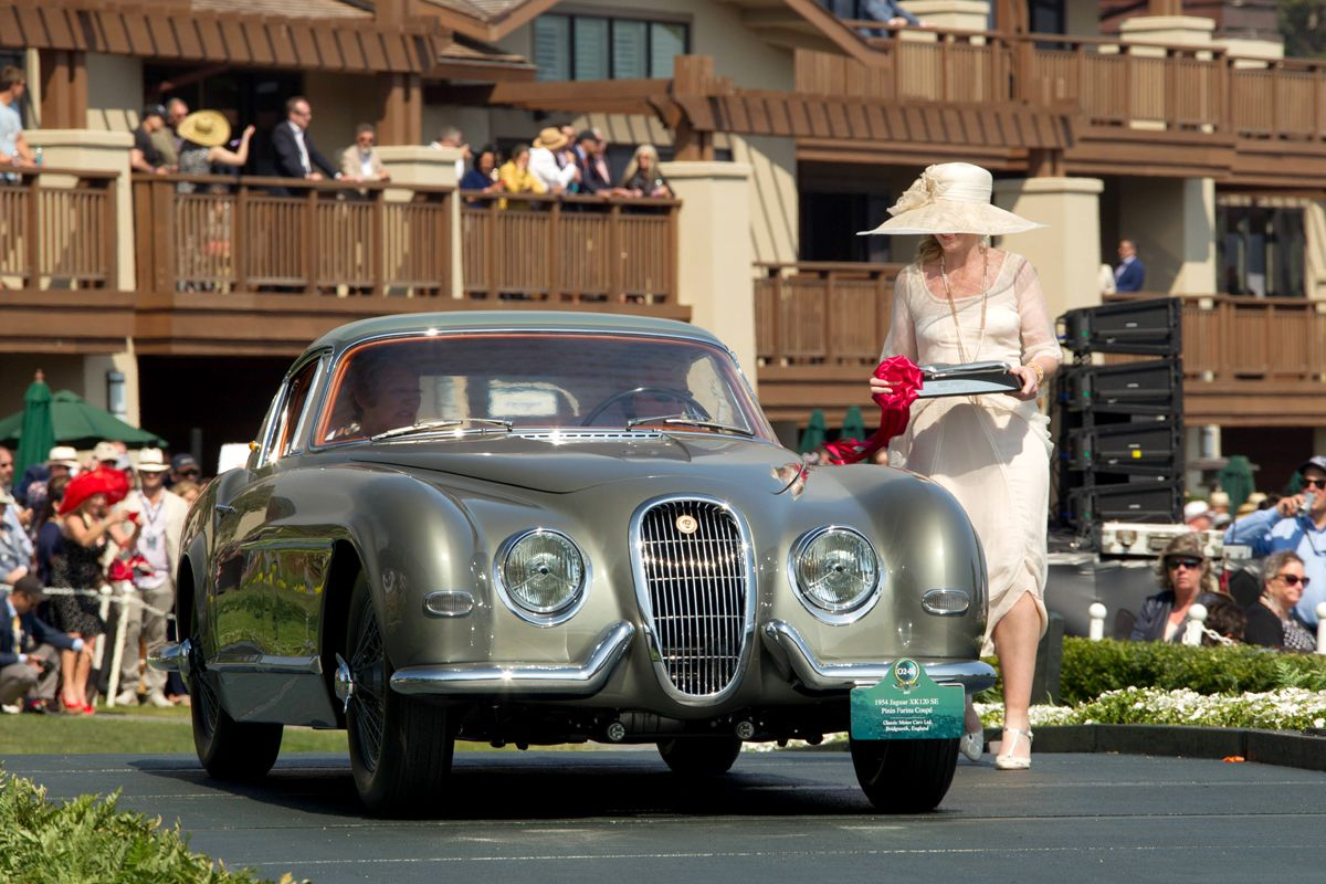 1426727_1954 Jaguar XK120 SE by Pininfarina @ Pebble Beach Concours 2017_Classic Motor Cars (Ph Wouter Melissen)