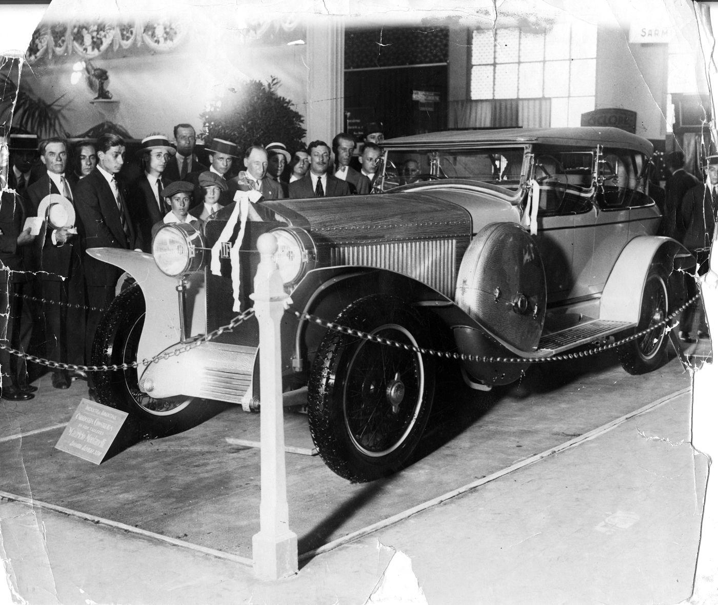 Isotta-Fraschini en el Salón del Automóvil de 1927