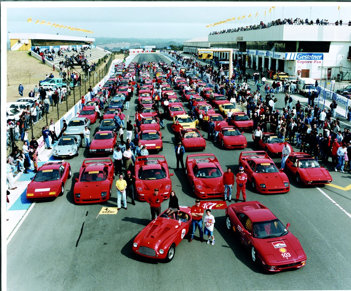 29. Rally of the South African Ferrari Clubs on the Kyalami Circuit for the 50th Anniversary Celebration, 1997