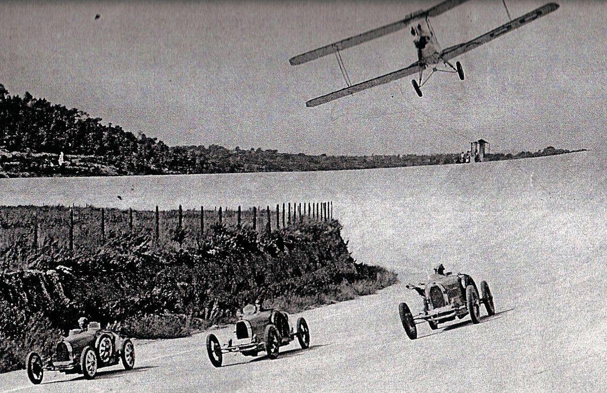 Terramar Bugatti y avion