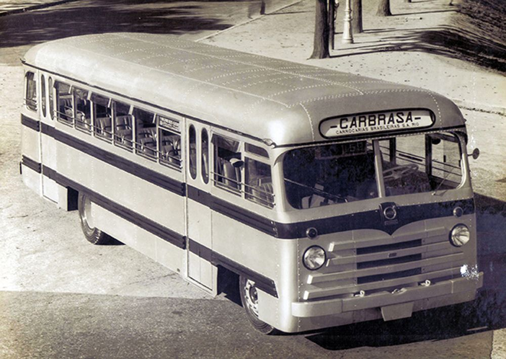 Volvo Carbrasa 6 bondi 1950