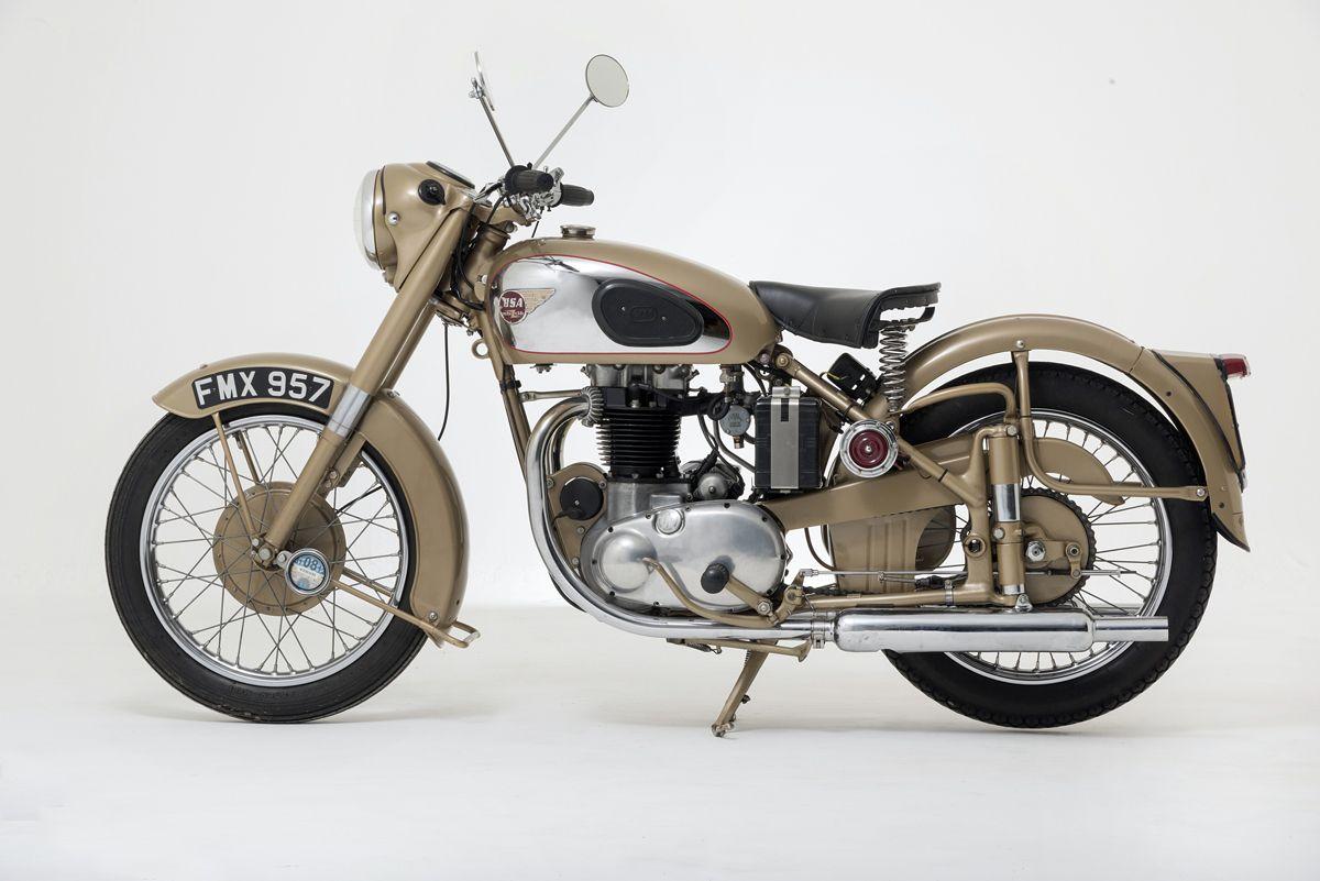 Una BSA Golden Flash para el National Motor Museum
