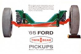 1965 Ford Twin I Beams Independent Suspension advertisement