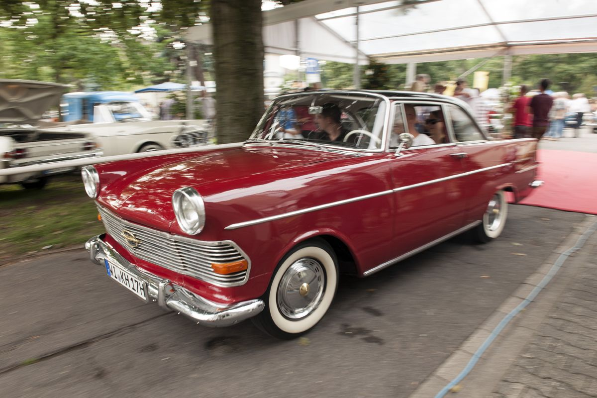 Nickname ai??zspeeding trunkai???: A 1962 Opel Rekord P2 CoupAi??.