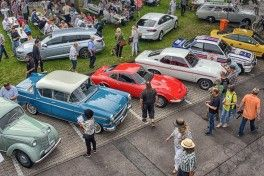 Stylish festival: The Classic Meeting at the Opelvillen in Rüsselsheim attracted more than 30,000 enthusiastic visitors.
