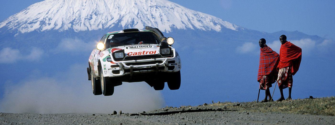 10 momentos históricos de Toyota en el rally