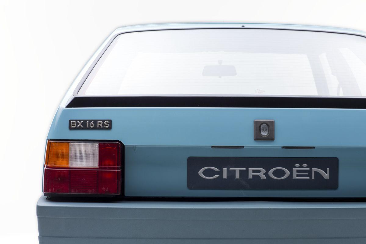 35 años del Citroën BX