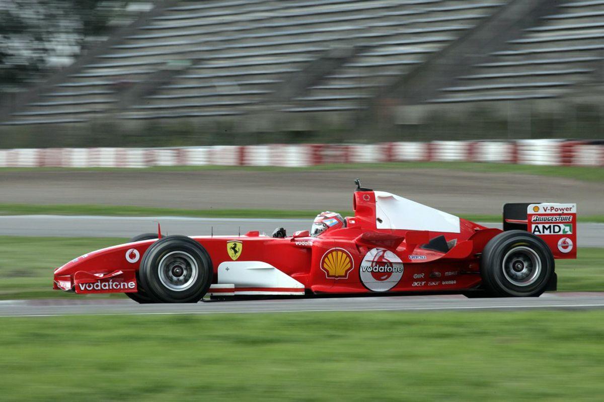 La F2004 estará en Autoclásica 2017 -2