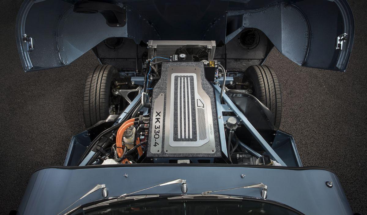 Jaguar E Type eléctrico, ¿anticipo del futuro?