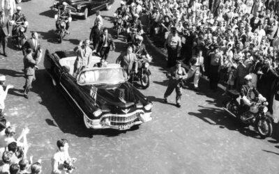 El Cadillac presidencial y el Duque de Edimburgo