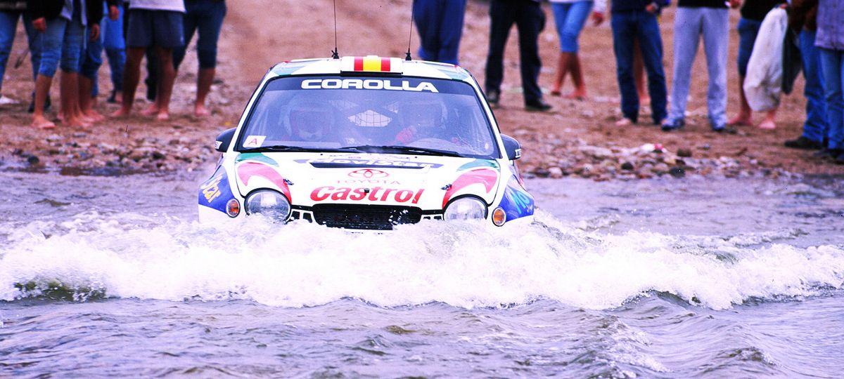 10 autos de rally de Toyota