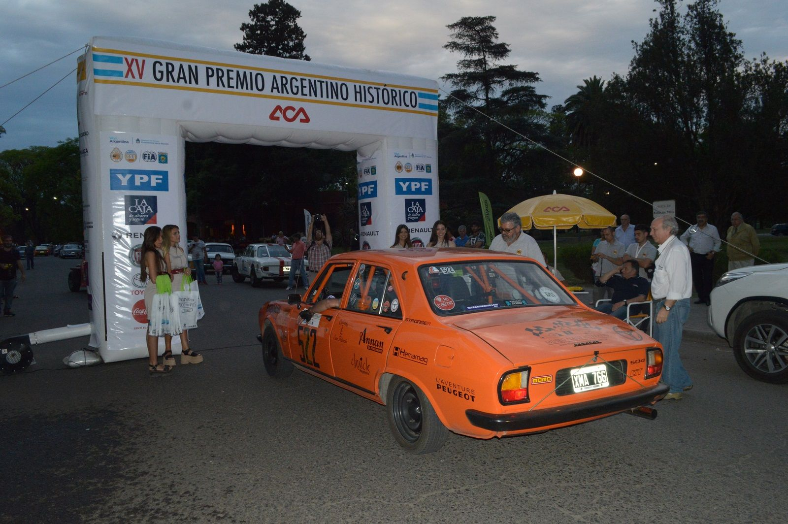 Arco llegada en SM Tucumán