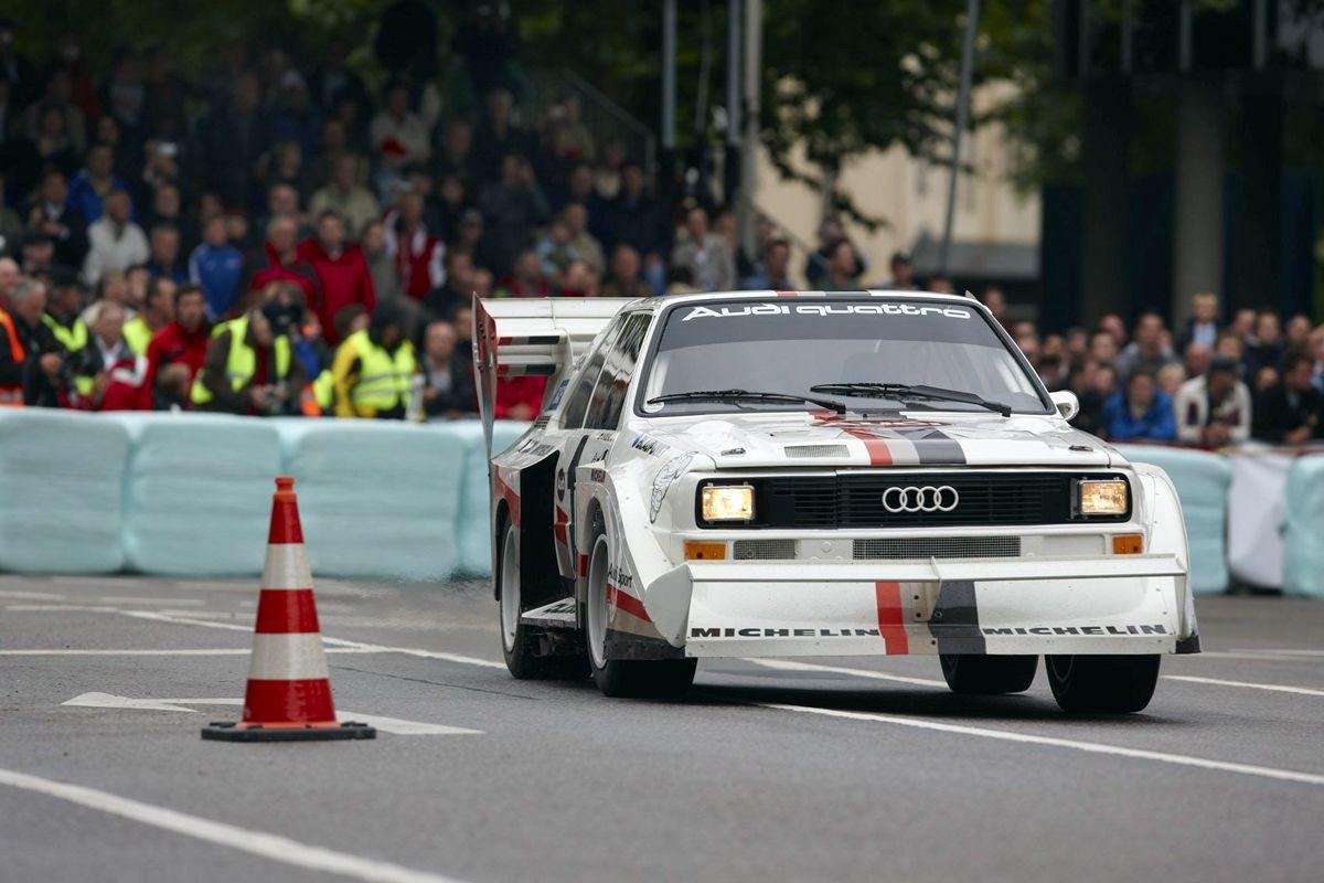 Audi Sport quattro S1 Ai??Pikes PeakAi?? (1987)