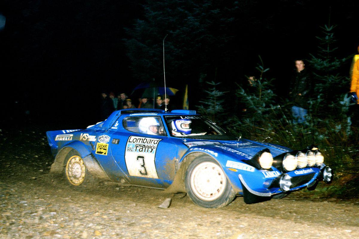 World Rally Championship 1981 Rally Limbard Markku Alen (fin) - Ikka Kivimaki (fin) Lancia Stratos