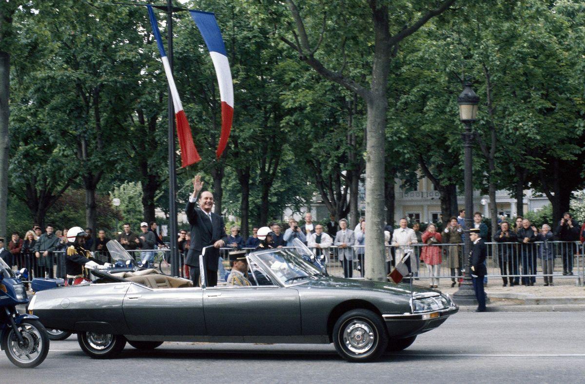 1995 - Investiture du PrÇsident franáais Jacques Chirac
