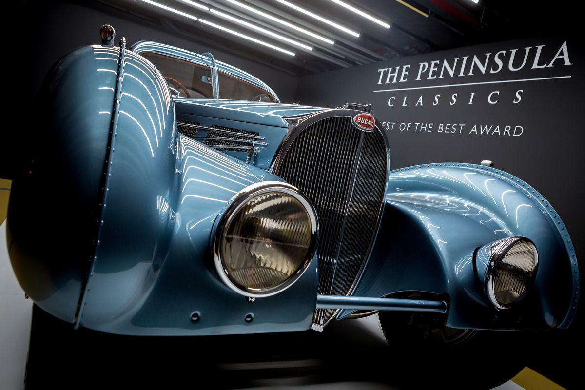 2. Bugatti headlamps