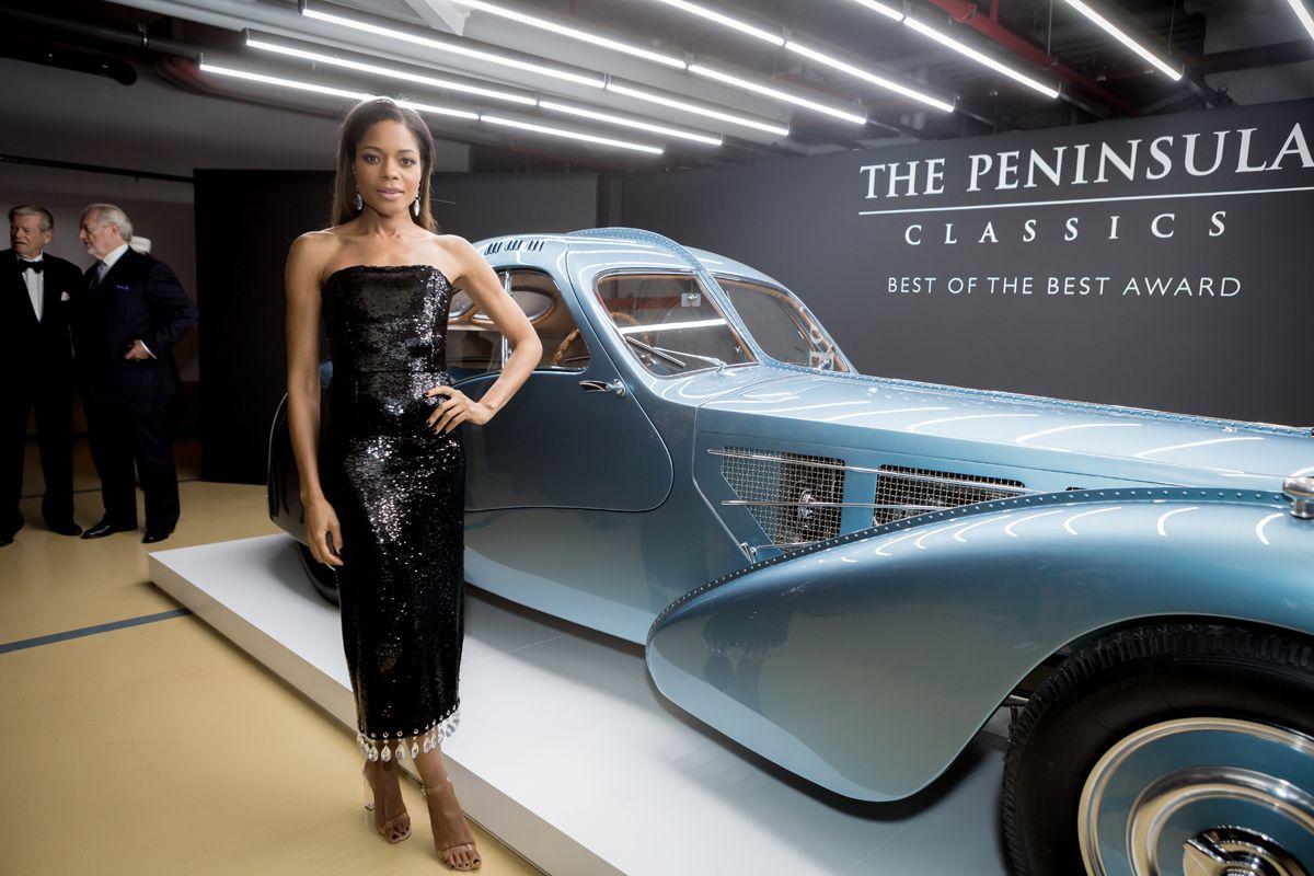 5. Naomi with Bugatti