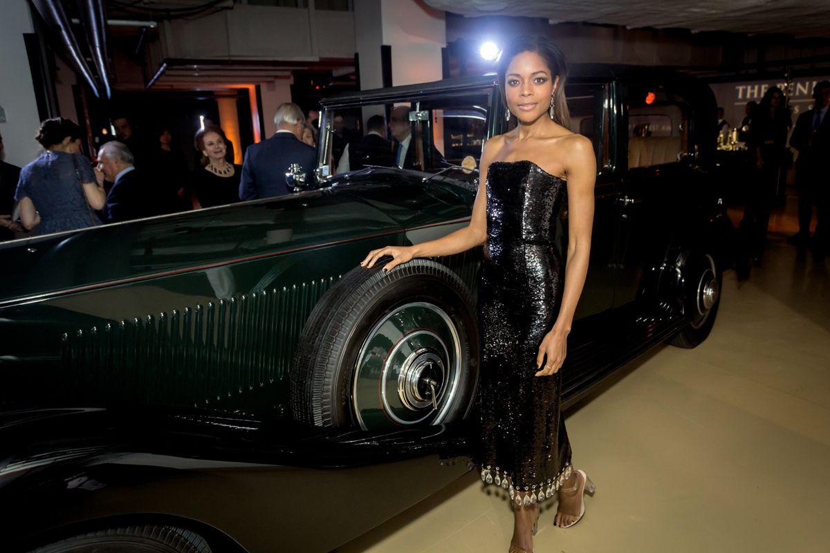 6. Naomi with Rolls Royce