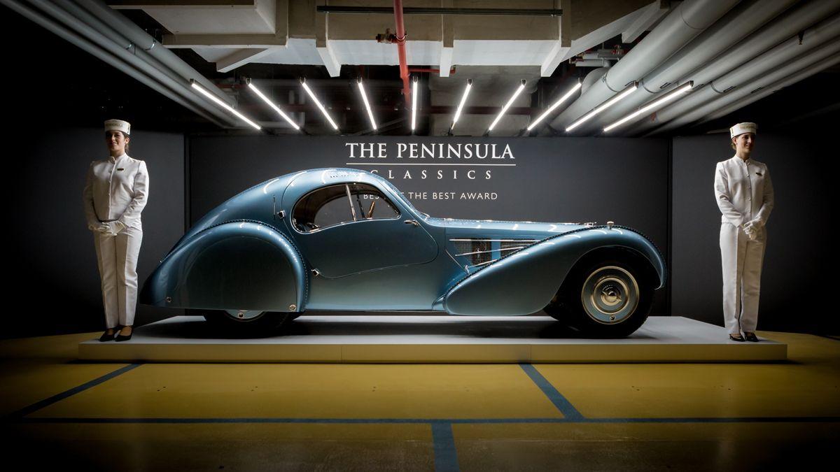 7. Bugatti with Pagegirls