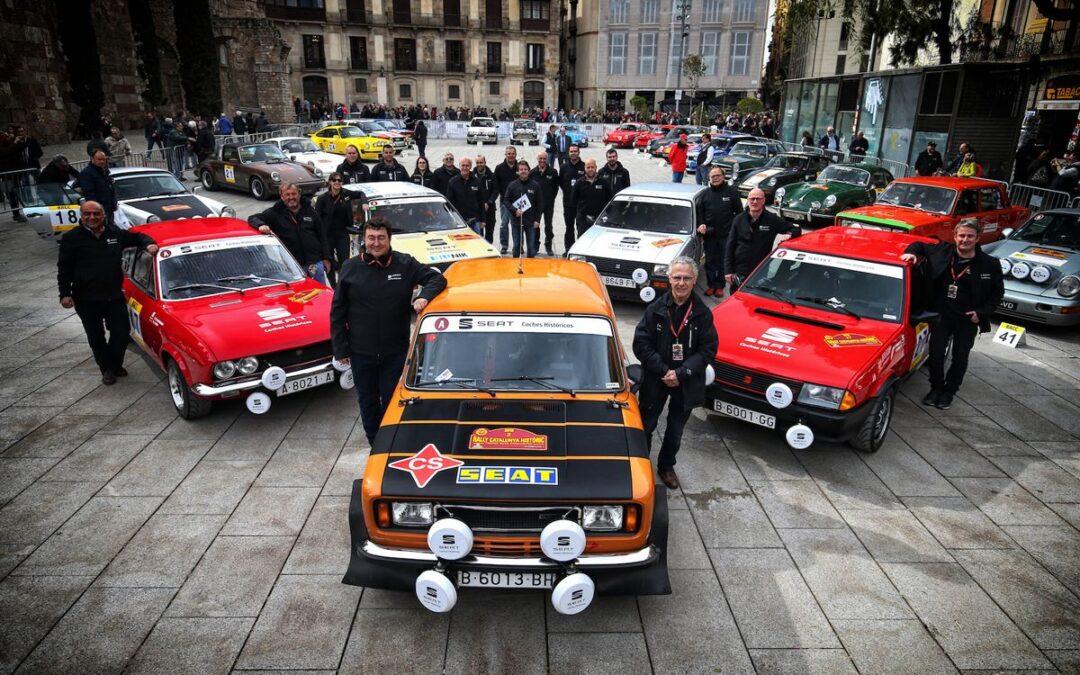Seat vence en el Rally Catalunya Histórico