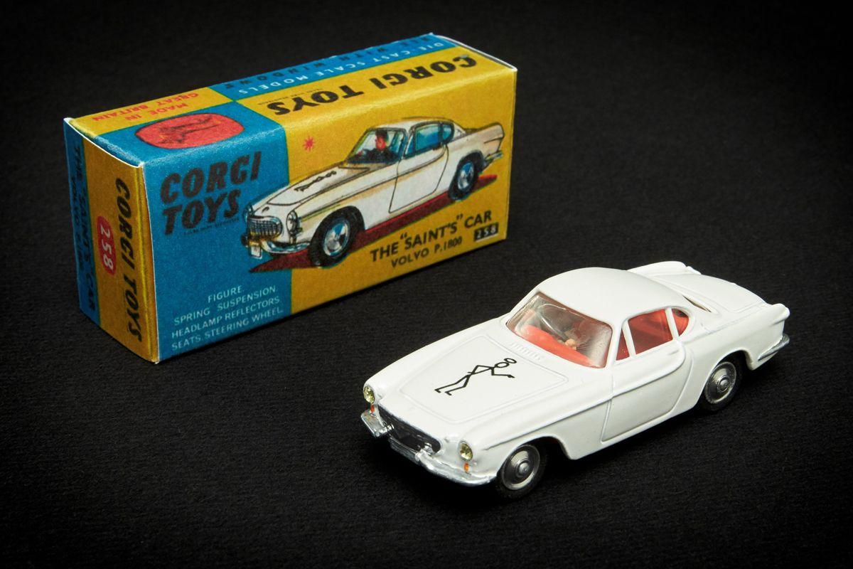 """ai??zThe Saint"""" Corgi Toys Modellauto vom Volvo P1800 aus der Fernsehserie ai??zSimon Templarai???"""