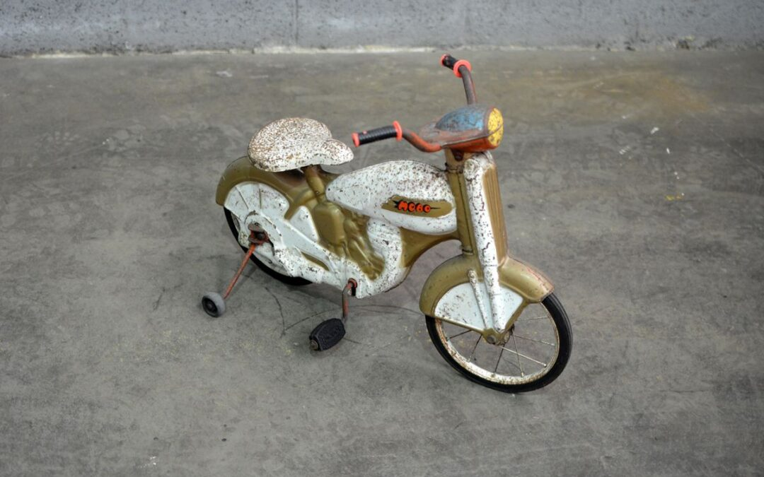 Remate de juguetes a pedal en Bicester Heritage